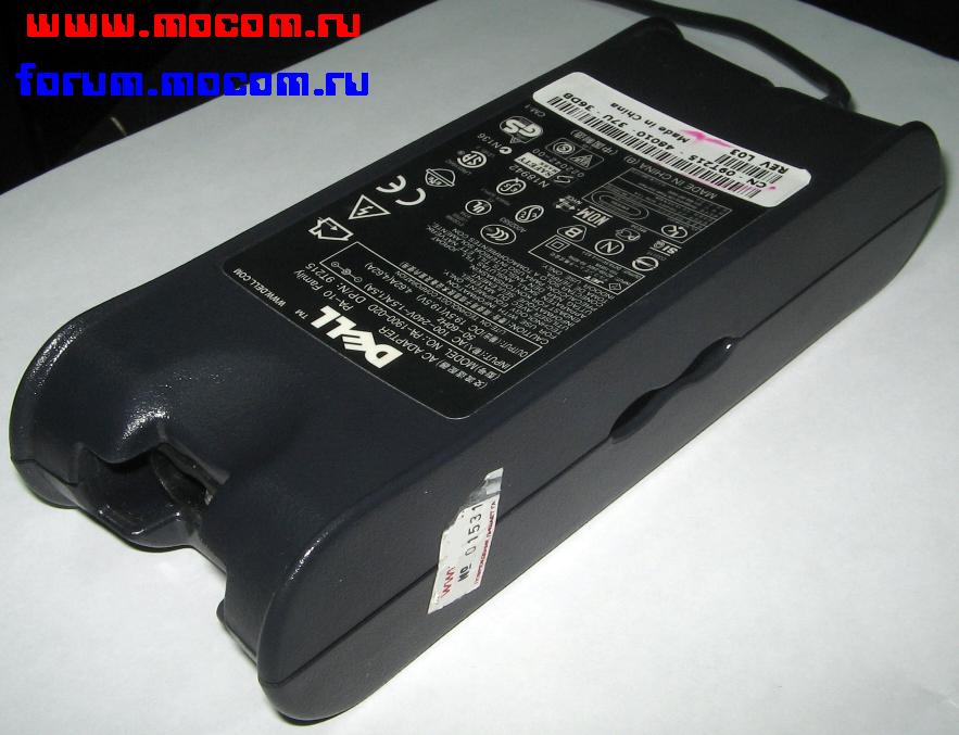 для ноутбука Dell: 19,5V 4