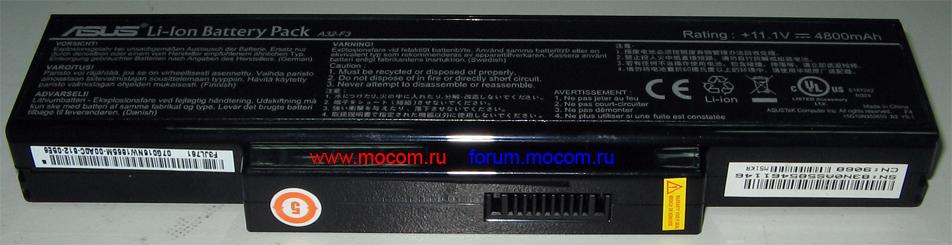 Аккумуляторная батарея ноутбука Asus M51K. Модель аккумулятора A32-F3, подходит к ноутбуку Asus F3J