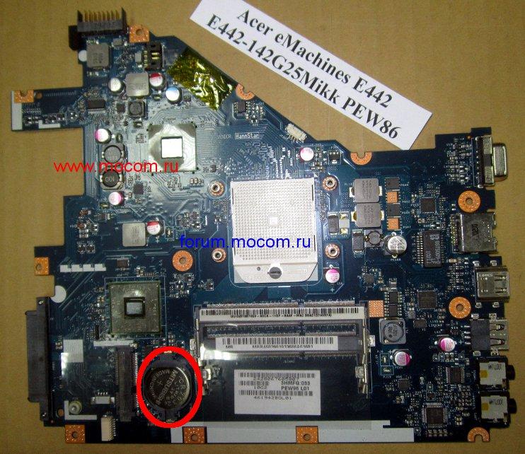 Где находится батарейка биоса у ноутбука