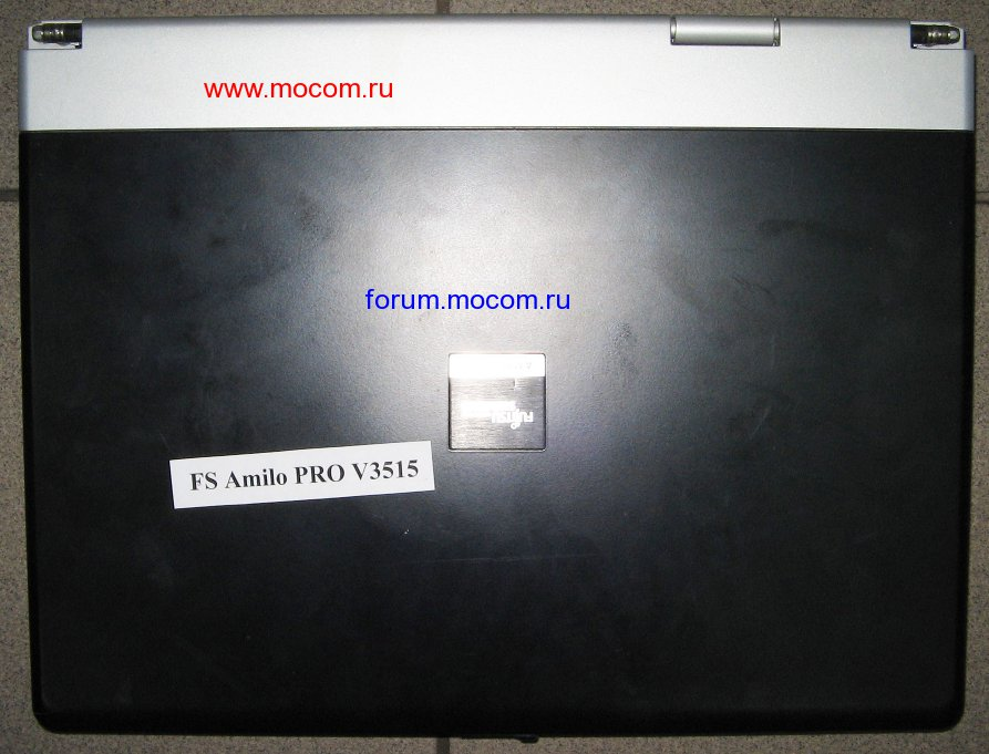 Ноутбук FS Amilo PRO V3515: корпус ноутбука