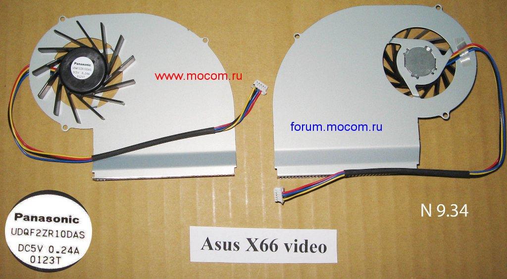 Ноутбук Asus X66IC / K70ab: кулер Panasoniс UDQF2ZR10DAS, DC5V 0.24A