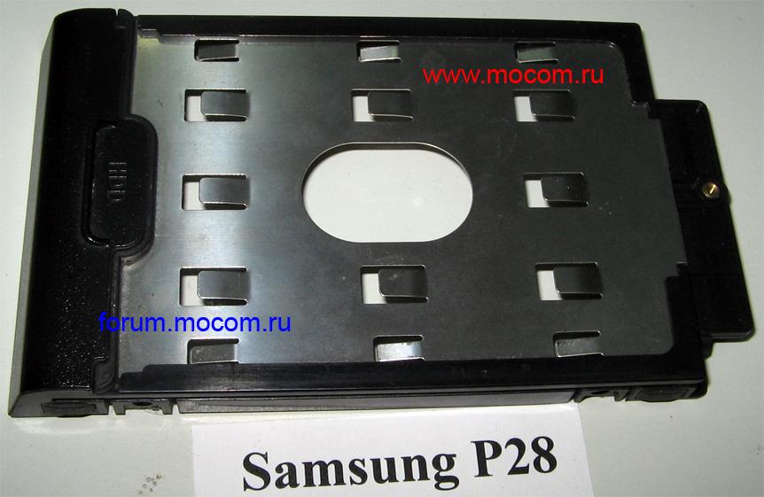Ноутбук Samsung P28: салазки