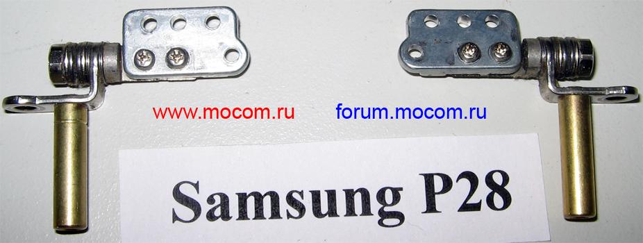 Ноутбук Samsung P28: петли