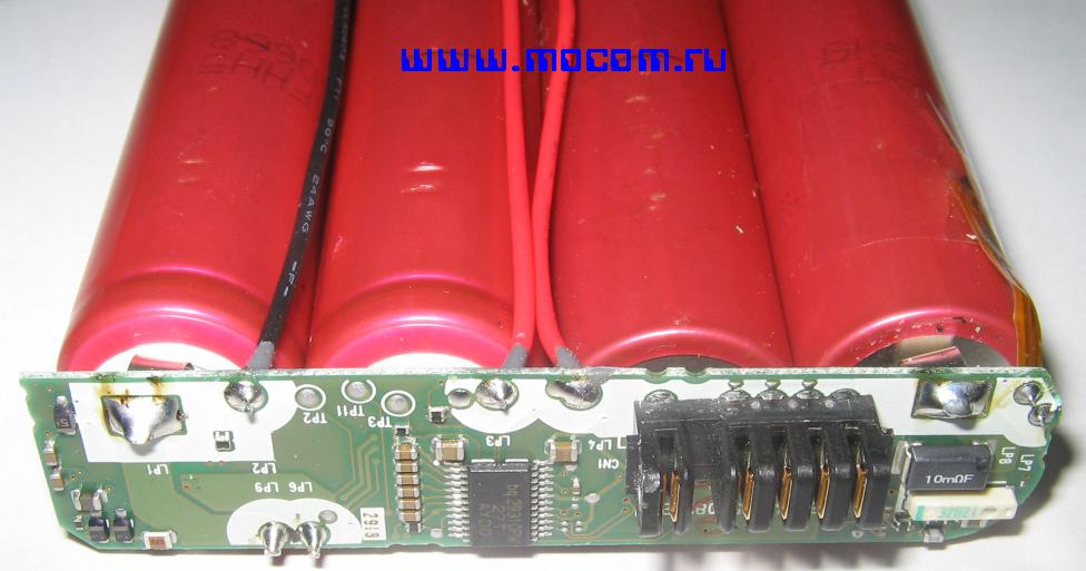 Ремонт аккумуляторных батарей ноутбуков Микроконтроллер аккумуляторной батареи ноутбука Hewlett-Packard ( HP.