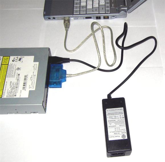 Подключение на USB-порт